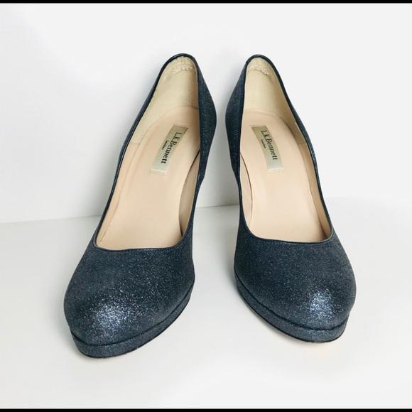 LK Bennett Shoes | Lk Bennett Sparkle Almond Toe Heels